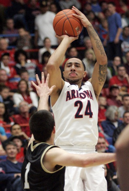 Arizona Wildcats: Lavender in the zone from three