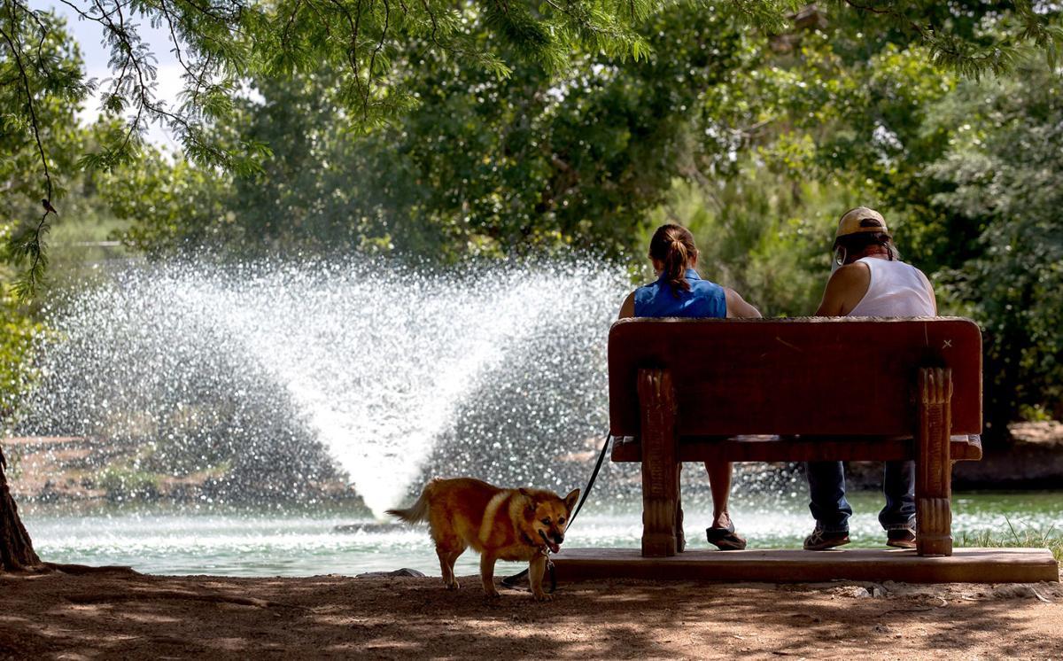 Hot weather, Tucson