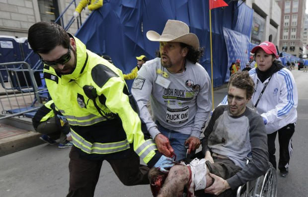 Race spectator says he acted instinctively to help injured