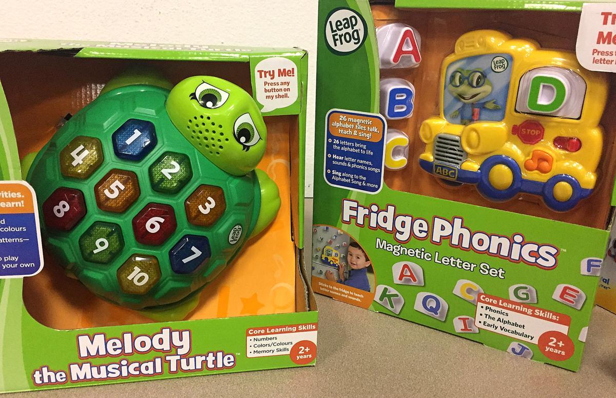 Noisy toys