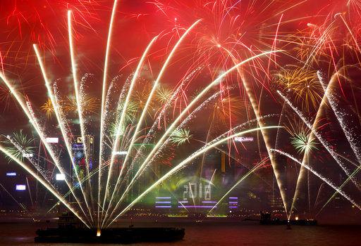 Fireworks, prayers as revelers around the world ring in 2018 | Ap ...