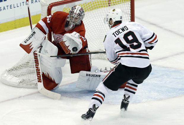 NHL: Detroit stifles Toews again, goes up 3-1 on Blackhawks