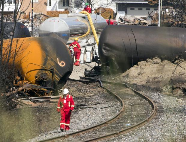 Oil-train wreck in Quebec leaves engineer 'devastated'