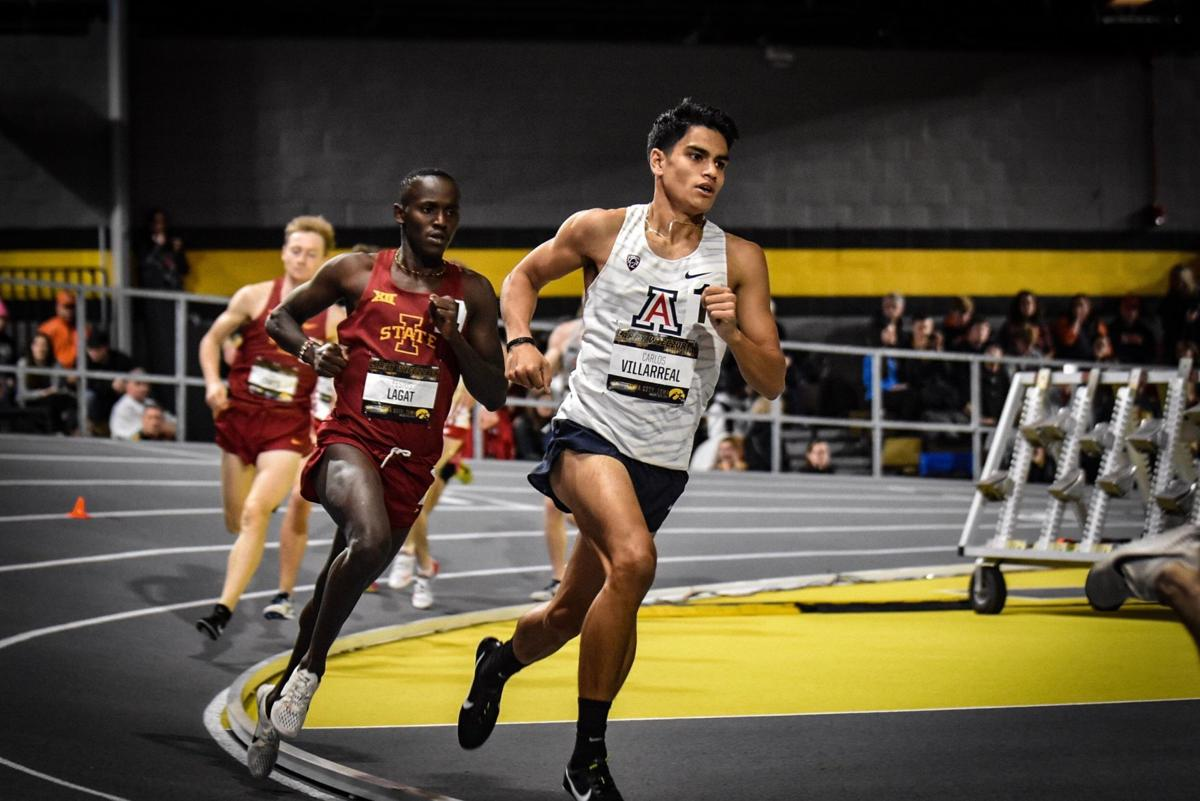 Wildcat Carlos Villarreal seeking strong time in mile to qualify for NCAA championships