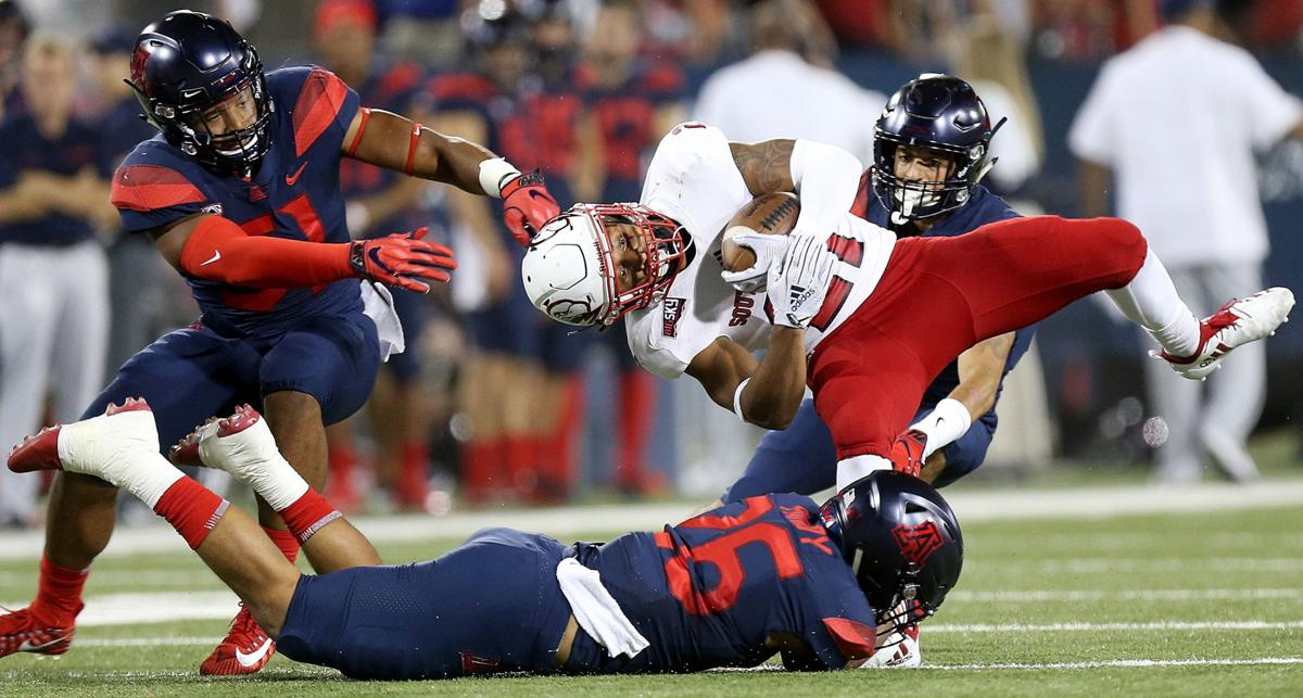 Arizona Wildcats vs. Southern Utah Thunderbirds college football (copy)