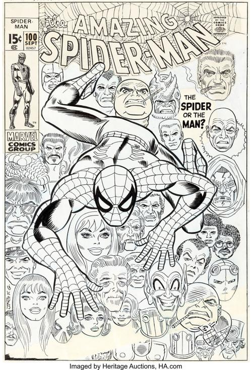 Spider-Man' cover art sets world record at Heritage Auctions   Books