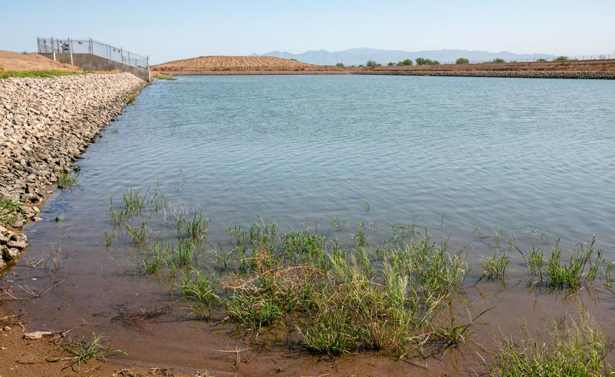 Central Arizona Project recharge basin