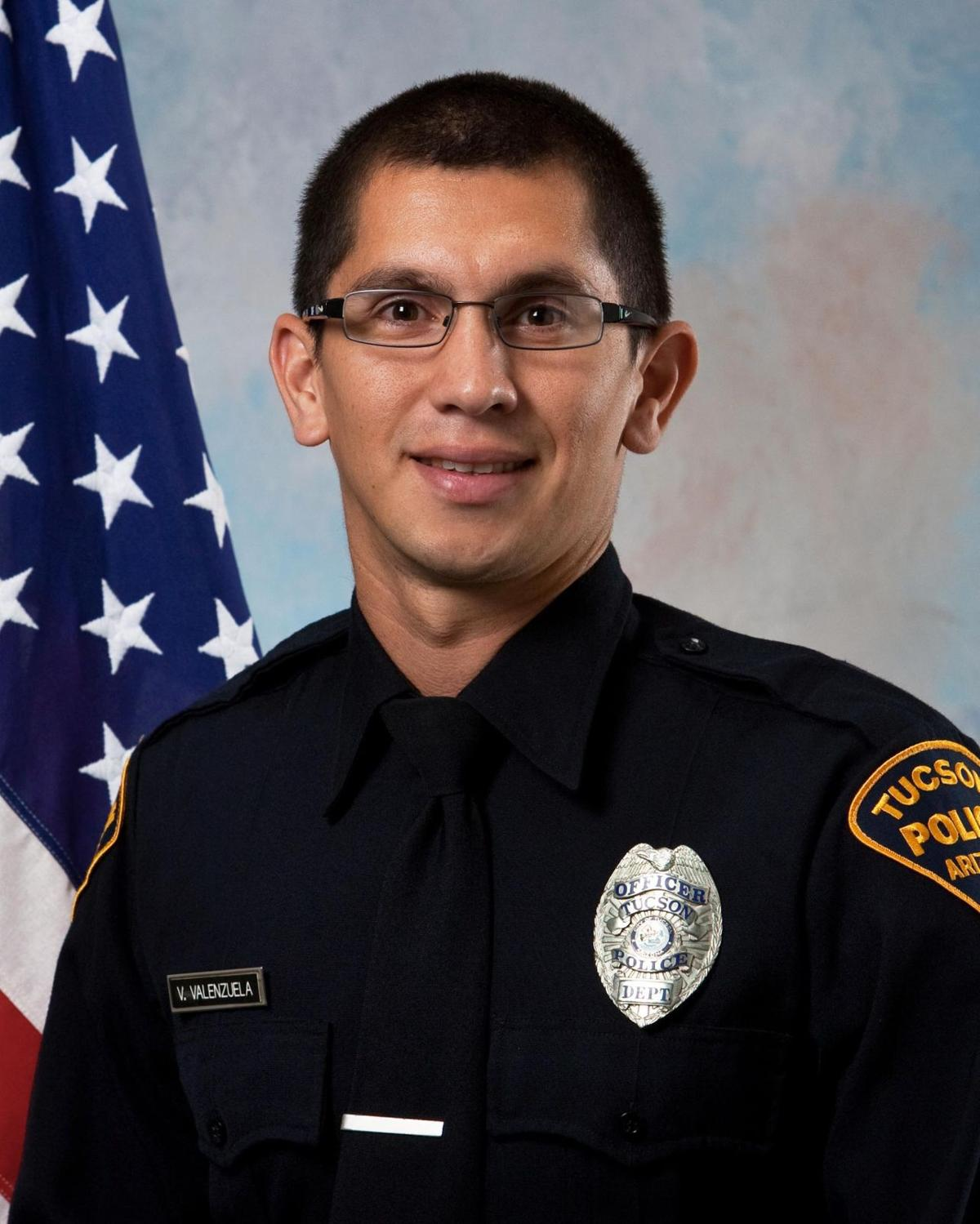Fired Tucson police Officer Vincent Valenzuela