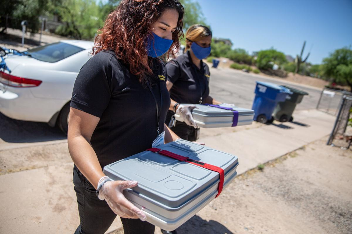 Mobile Meals, Tucson Police