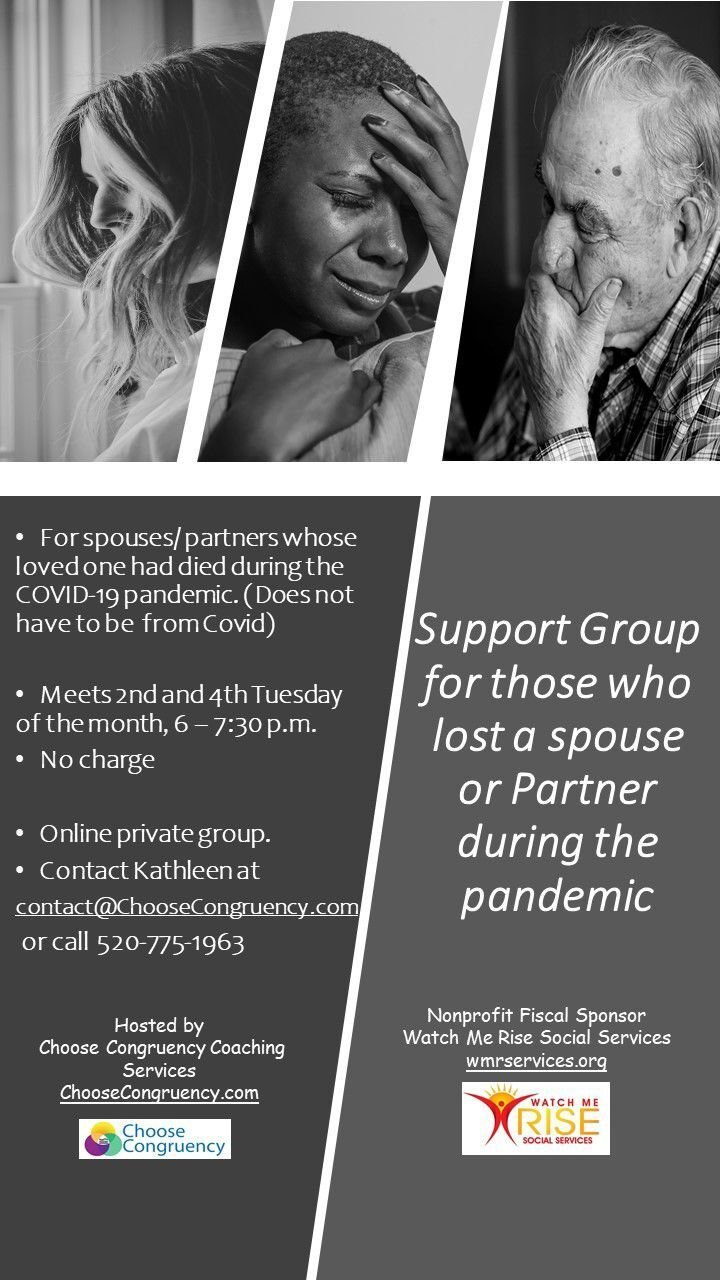 Support group for bereaved spouses during the Covid-19 pandemic