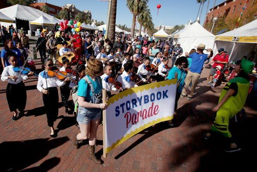 There's plenty to tempt children and teens at the Tucson Festival of Books