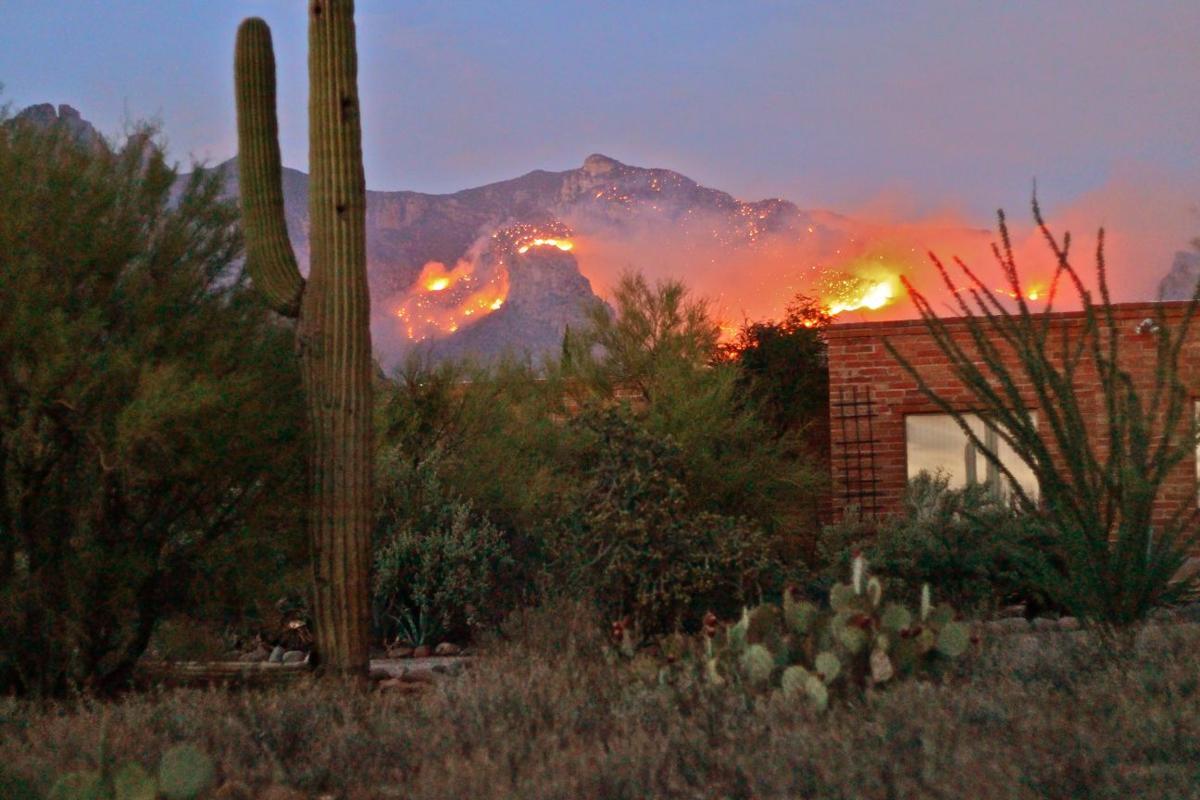 Reader photos: Finger Rock Fire