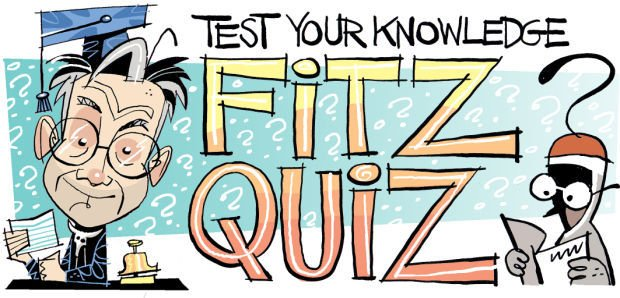 Fitz Blog Art: Fitz Quiz