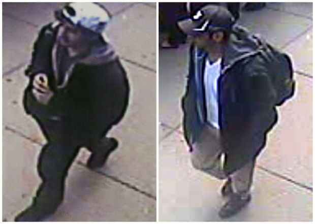 Photos show 2 Boston suspects
