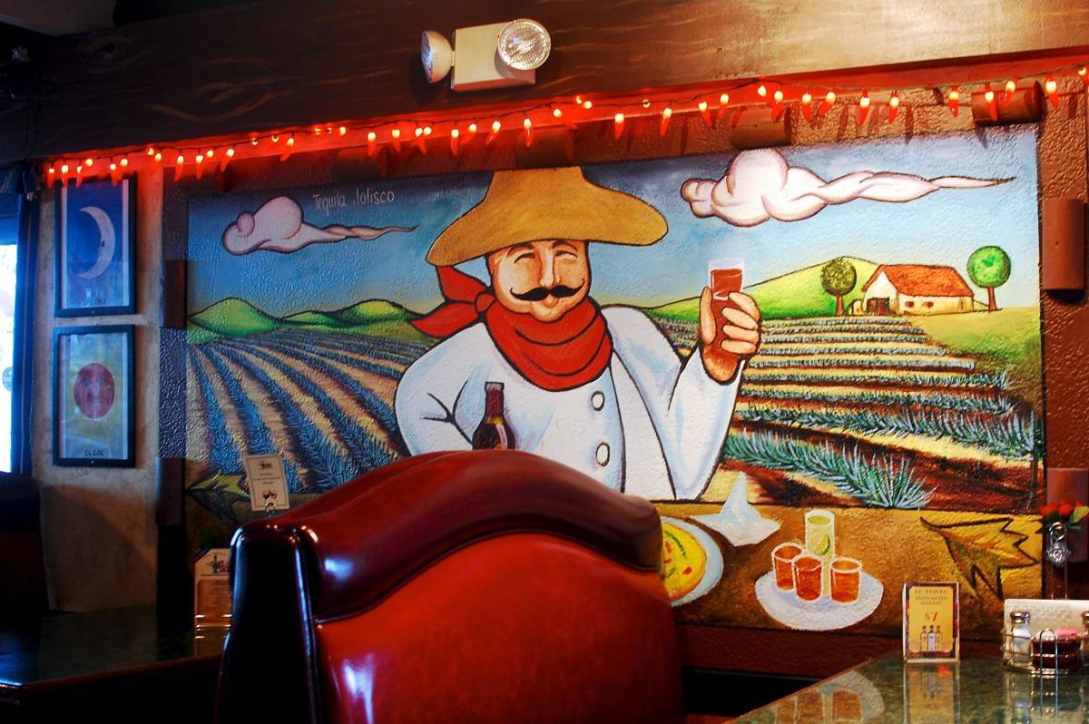 El Saguarito mural