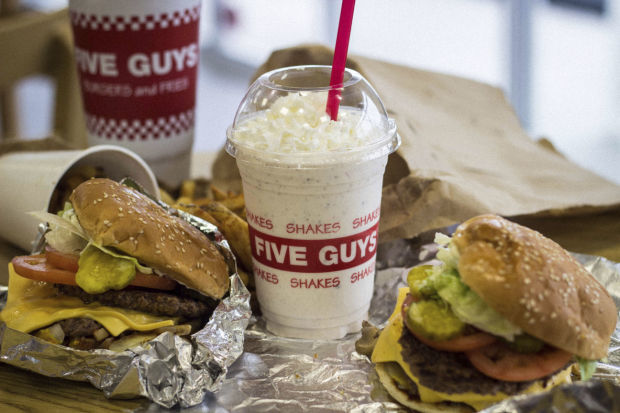 Five Guys to go