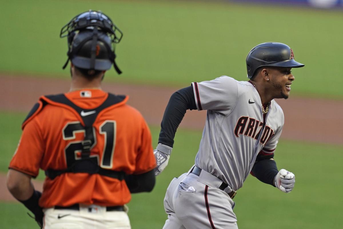 Diamondbacks Giants Baseball