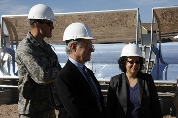 White House energy official tours D-M