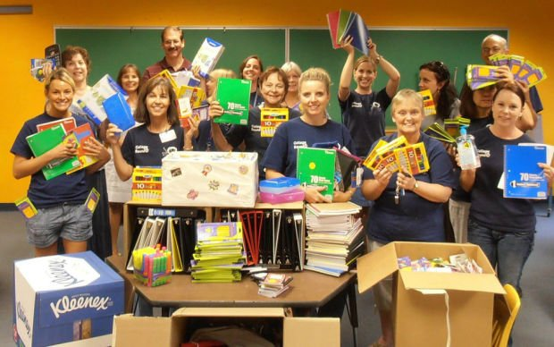 Groups unite for school-supply drive