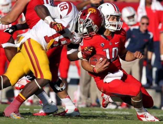 Arizona football: Scott will play against UCLA