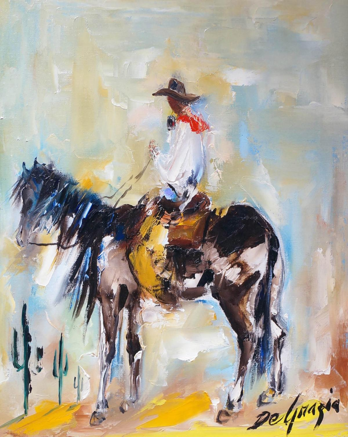 Act Scores Paint Troubling Picture For >> Degrazia S Arizona Highway Paintings At Gallery In The Sun