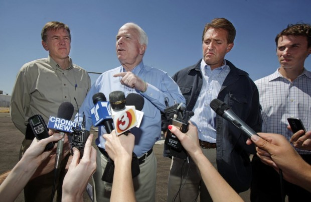 Kyl and McCain endorse Flake in U.S. Senate race