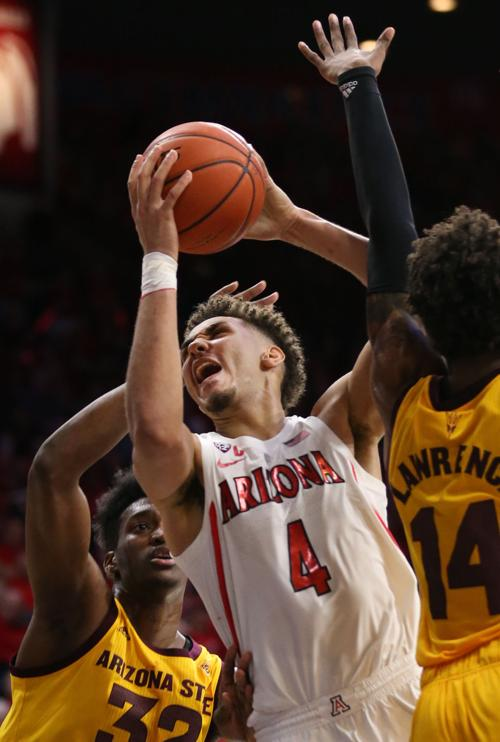 Arizona State 72, Arizona Wildcats 64