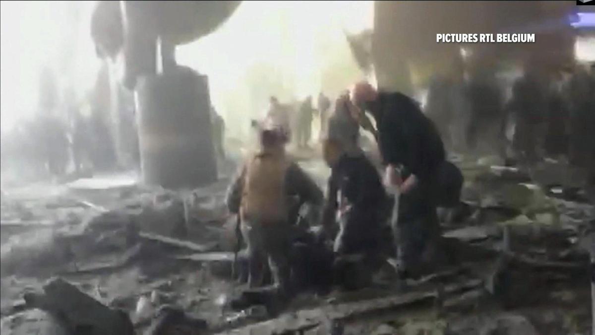 Terrorist attacks in Belgium