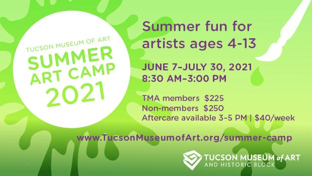 Tucson Museum of Art summer camp Sponsored