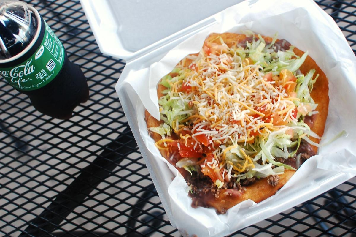 Shell Diner Indian taco