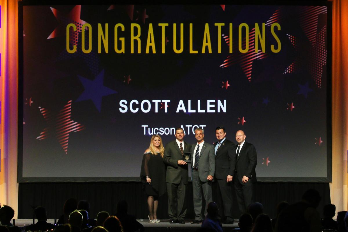 Scott Allen receives honor