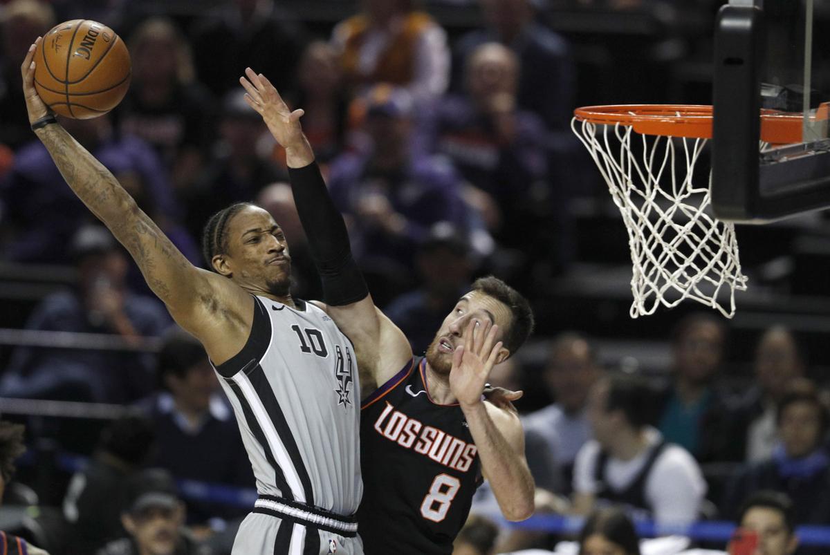 Mexico Suns Spurs Basketball