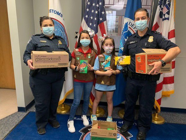 2021 Girl Scout Cookie Sales