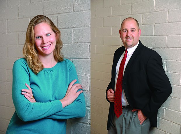 40 Under 40's man and woman of the year