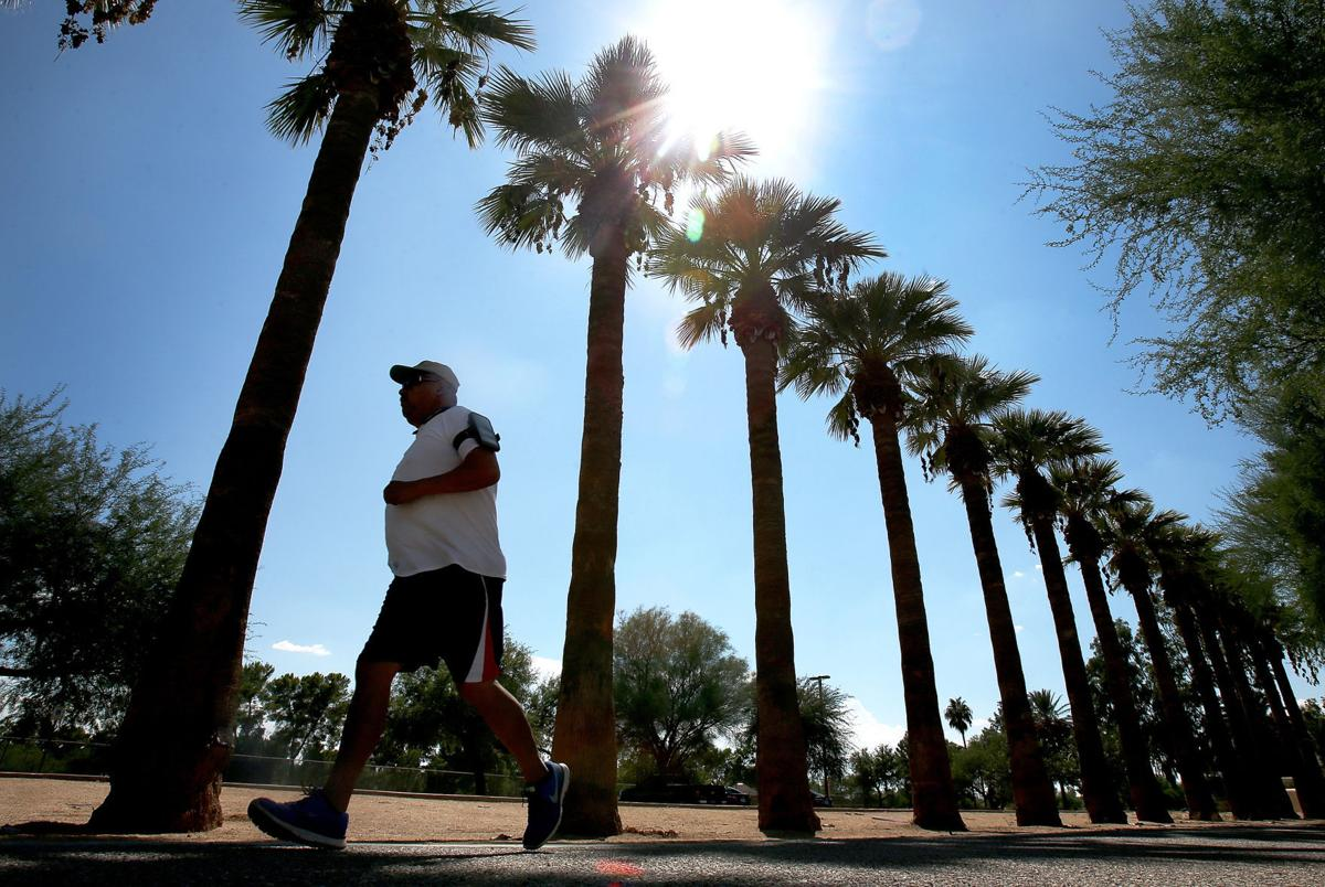 Hot September weather in Tucson