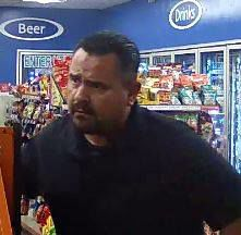 Store surveillance photo of assault suspect