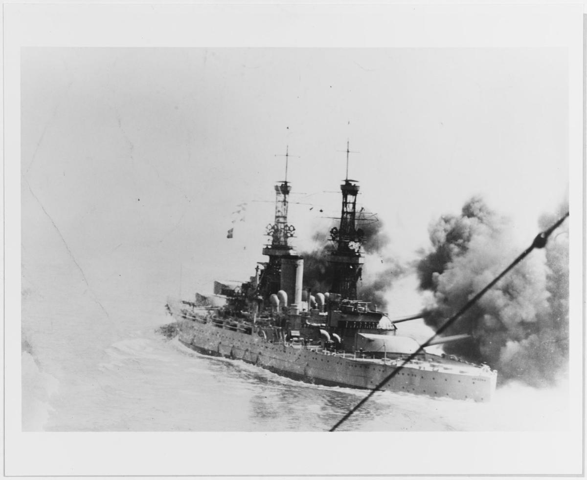 Rarely seen photos of the USS Arizona, sunk Dec  7, 1941, in Pearl