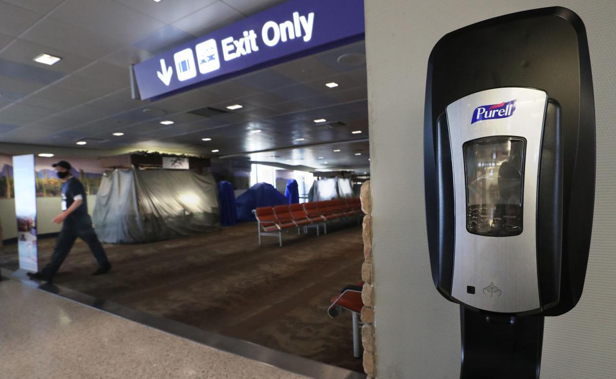 Tucson International Airport, coronavirus pandemic