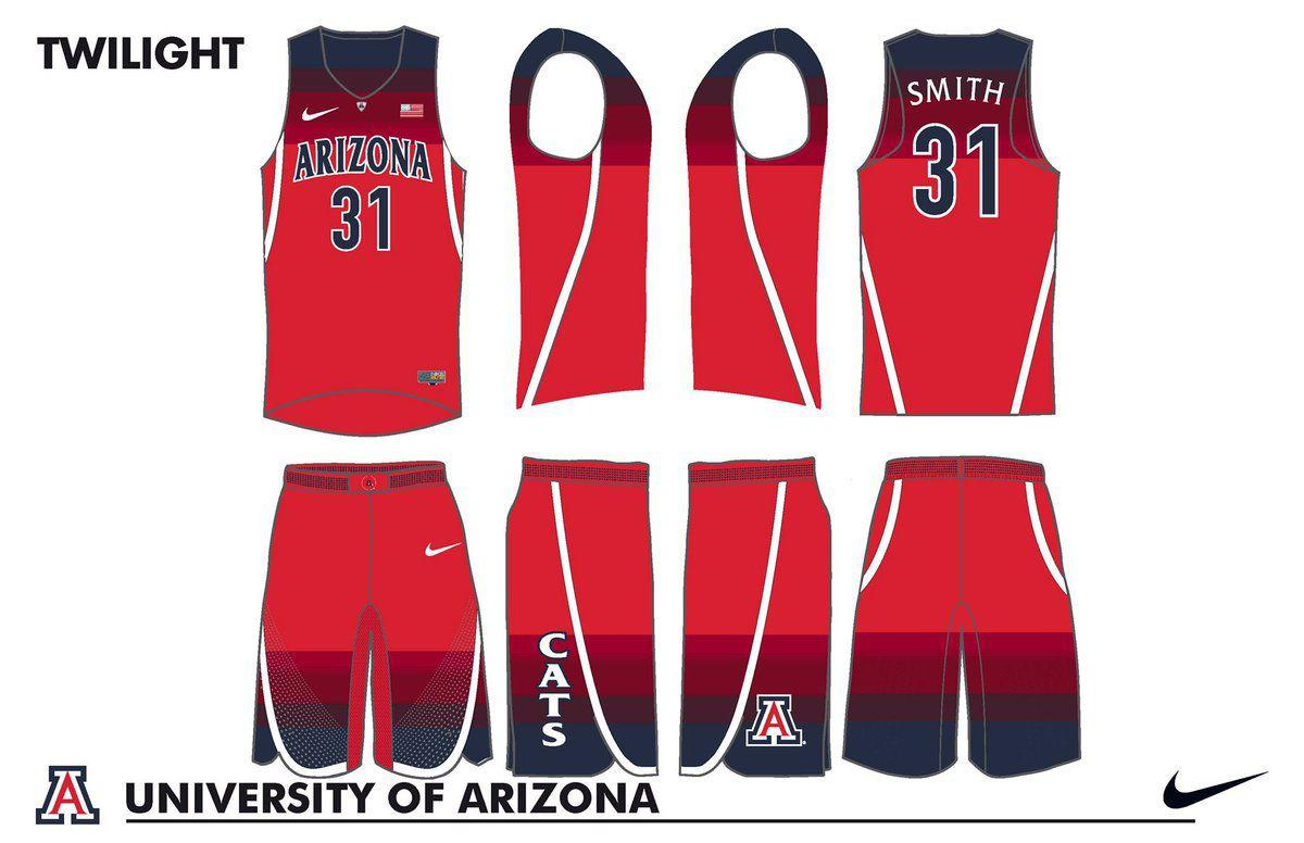 News 4 Tucson >> Photos: Arizona Wildcats unveil 7 brand new basketball jerseys for 2016-17 | Wildcats | tucson.com