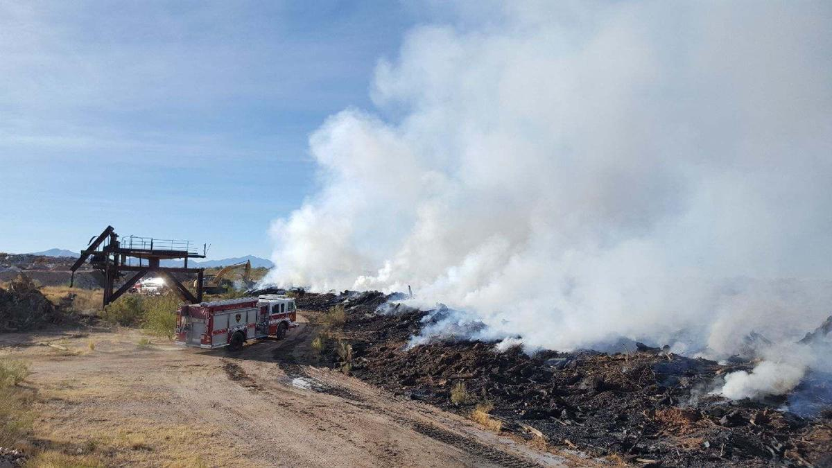 Firefighters hope to have landfill fire completely out by Tuesday