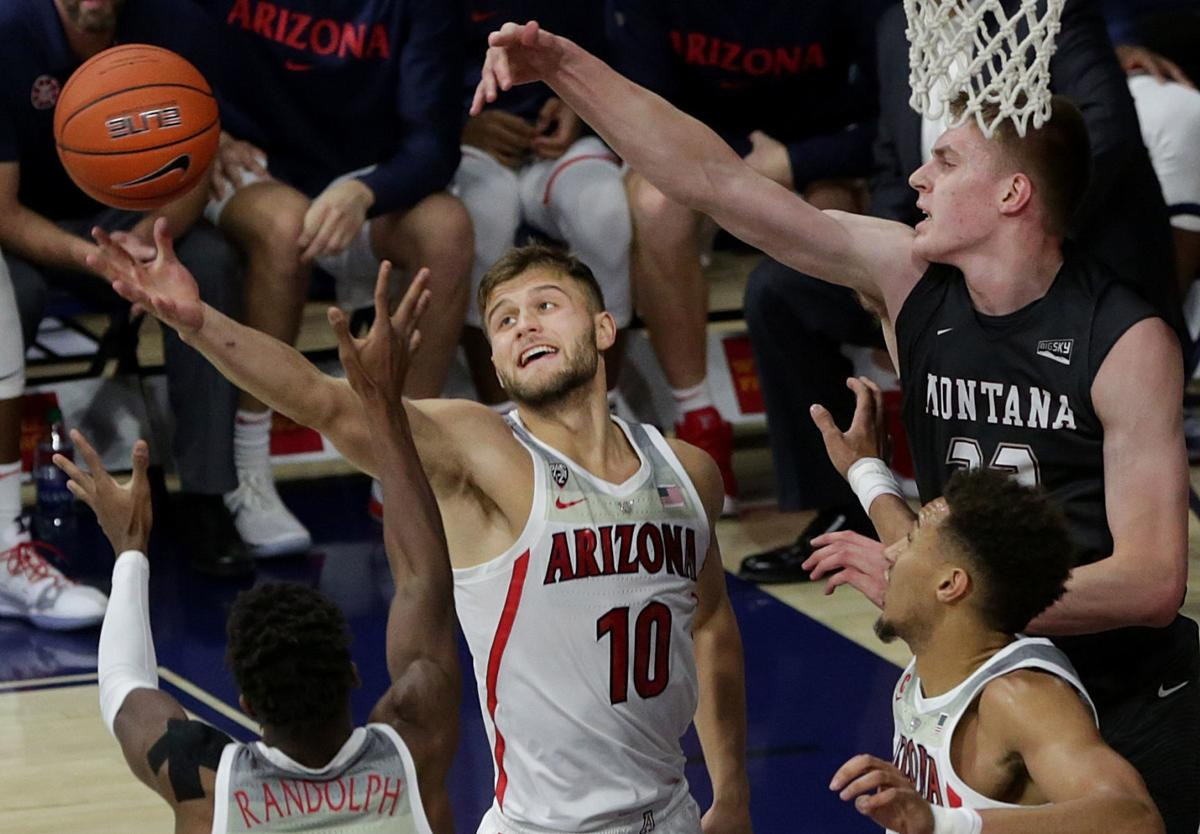 Arizona Wildcats vs. Montana Grizzlies men's college basketball