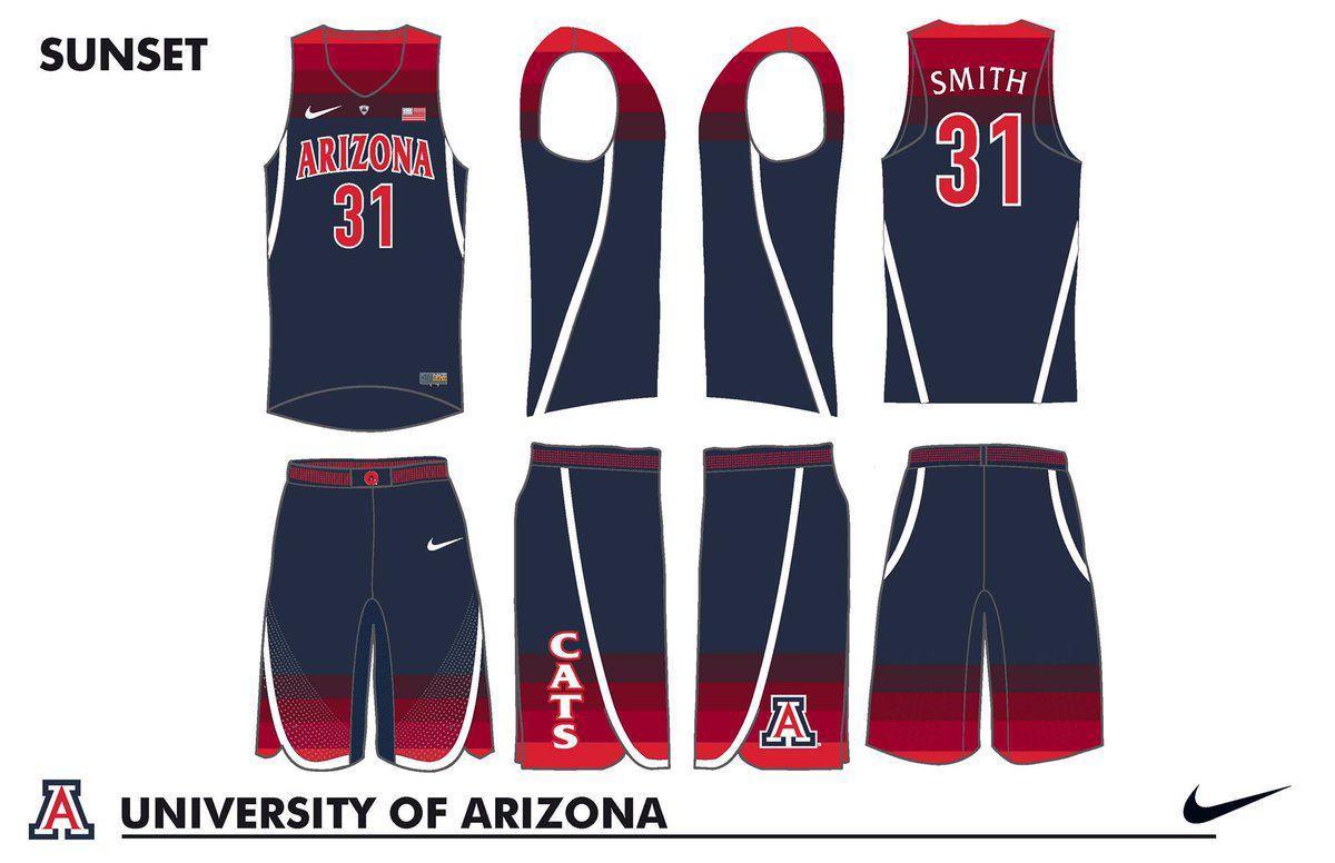 premium selection 89c08 a8579 Photos: Arizona Wildcats unveil 7 brand new basketball ...