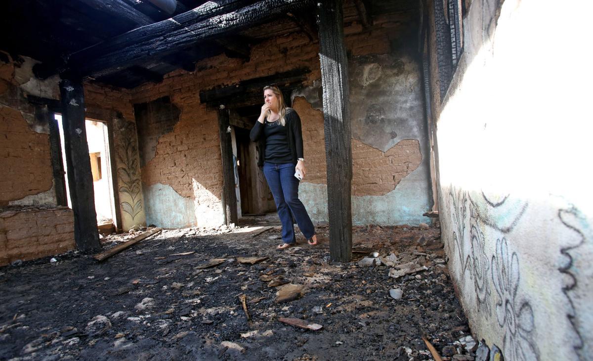 DeGrazia Chapel fire damage
