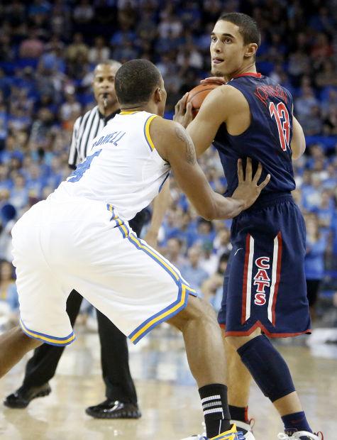 Arizona Wildcats at UCLA college basketball