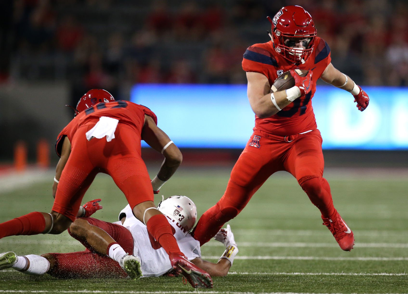 Arizona TE Bryce Wolma embracing 'different' role in second year ...
