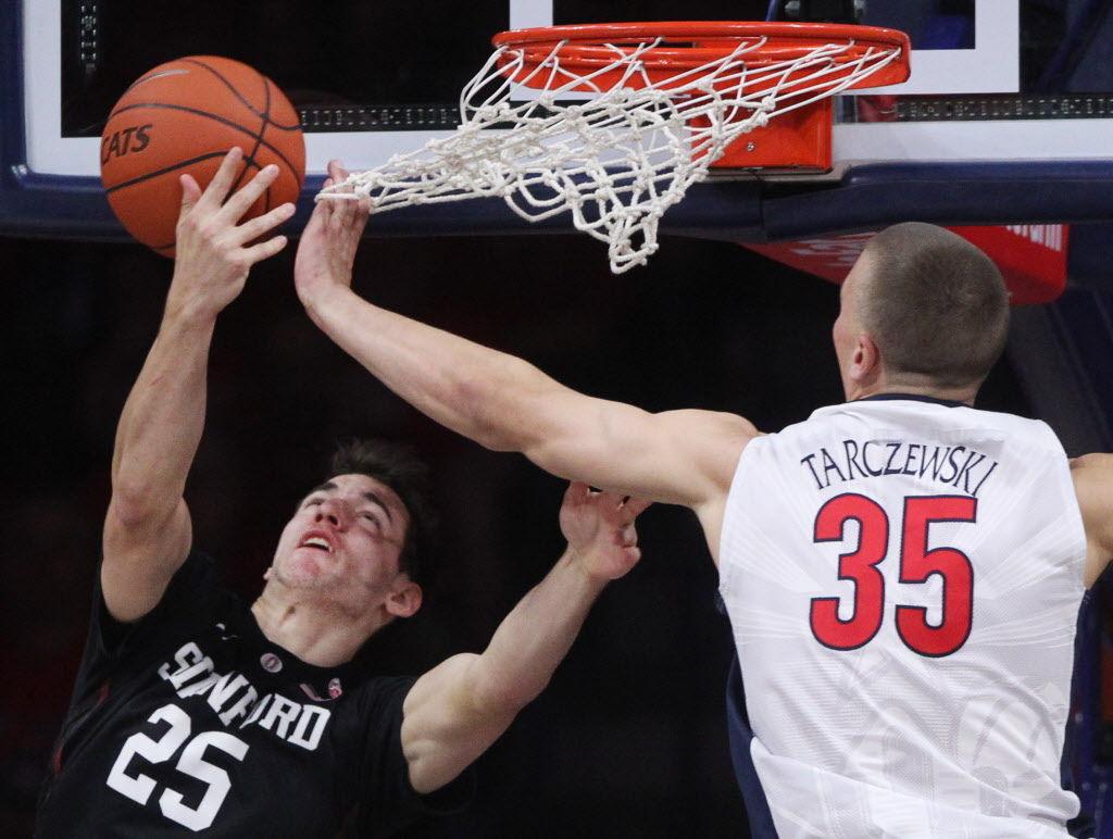 No. 18 Arizona Wildcats vs. Stanford Cardinal men's college basketball