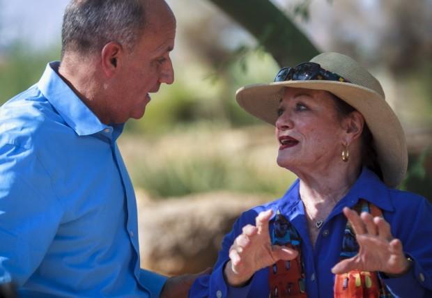 Barry Goldwater's daughter backs Dem Carmona in U.S. Senate race