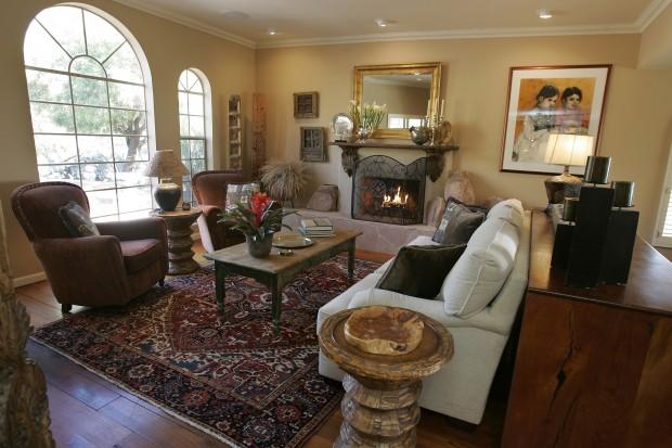Wonderful Interior Design Skills Spill Over To Skyline Home