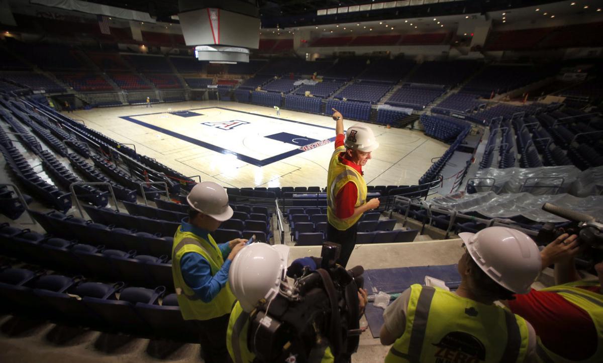 McKale Center renovation