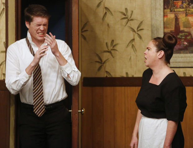 Comedy Playhouse stages over-the-top farce 'My Friend'